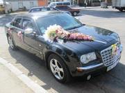 Прокат авто для свадеб Chrysler 300C