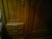 Дубовый шкаф, ручной работы 1920 года