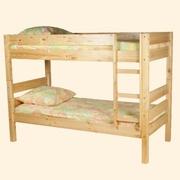 Кровати детские 2-3х ярусные из дерева