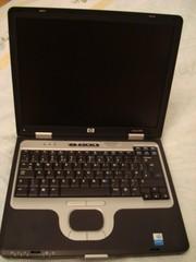 Продам надежный ноутбук б/у HP nc6000 с COM и LPT