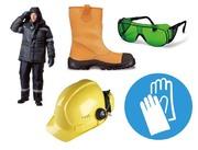 Спецодежда, спецобувь, перчатки, защитные очки