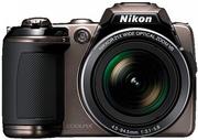 Фотоаппарат Nikon COOLPIX L120 Brown  новый +подарок
