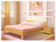 Кровать деревянная буковая Рената