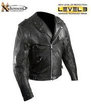 Куртка байкерская (косуха) Exelement c защитой.