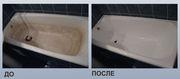 Наливная акриловая ванна