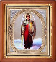 иконы в деревянной рамке со стеклом