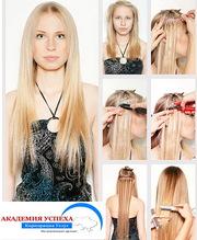 Наращивание волос. Обучение в Николаеве.