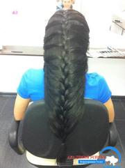 Курсы парикмахеров. Плетение косичек на волосах. Обучение в Николаеве.