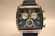 Мужские классические наручные часы Carrera Calibre 36 Black Tag Heuer