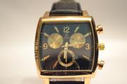 Мужские классические наручные часы Carrera Calibre 36 (Gold), гарантия