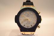 Мужские классические часы Hublot Geneve (White), гарантия