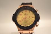 Мужские классические часы Hublot Geneve (Gold)
