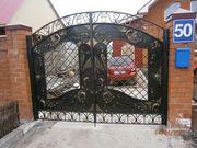 Изготовление решеток,  ворот, оградок и т.п.