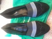 Туфли натуралтний замш новые