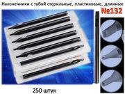 Пластиковые длинные наконечник для тату машинки по лучшей цене