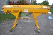 Станок для гибки листового металла Sorex ZRS 1660