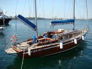 Срочно продам яхту Conrad 45,  кэч,  кр.дерево