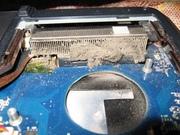Чистка ноутбуков от перегрева