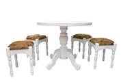 стол круглый В12 белый