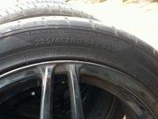 Продам комплект летних колес 225/45/17 (в отличном состоянии)