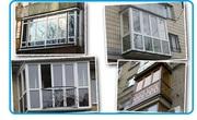 Французкие балконы. Изготовление. Монтаж
