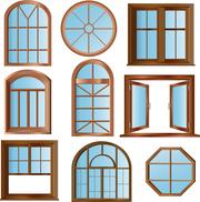 Нестандартные окна,  эркерные,  арочные,  треугольные,  трапециевидные