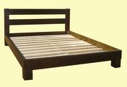Новые двуспальные деревянные кровати