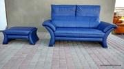 Европа Мебель: купить кожаный диван по выгодной цене в Украине.