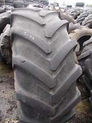 Продаем  шину для сельхозтехники 16.9R24 б/у 2шт.