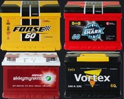 Аккумулятор автомобильный FORSE,  EVROSTART. Купить аккумулятор.
