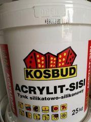 Силикатно-силиконовая штукатурка ACRYLIT SiSi