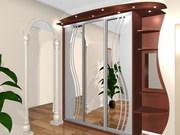 Эксклюзивные шкафы-купе по индивидуальному проекту.